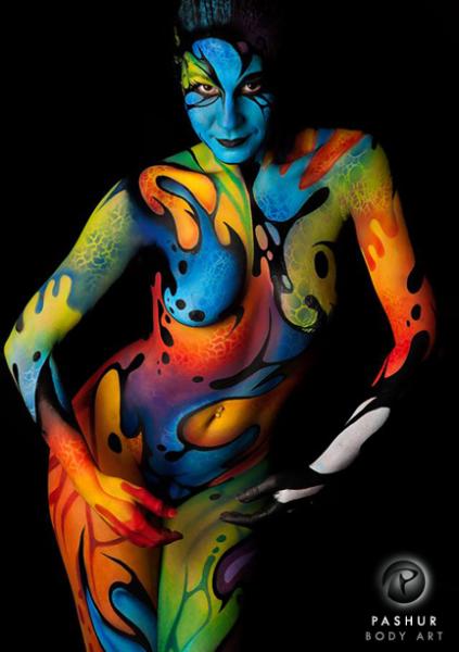 Abstract Art Bodies Planet Pashur - Warpai...