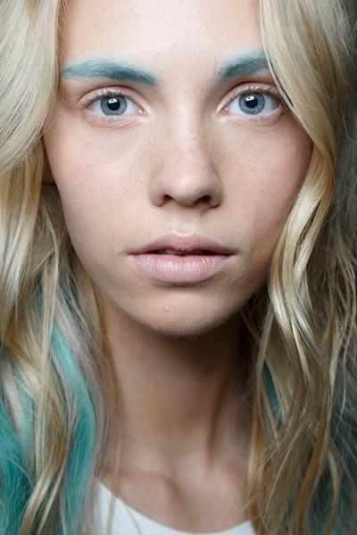 alexander wang, bleached and blue
