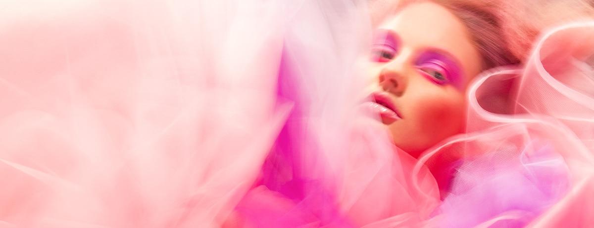 pink header