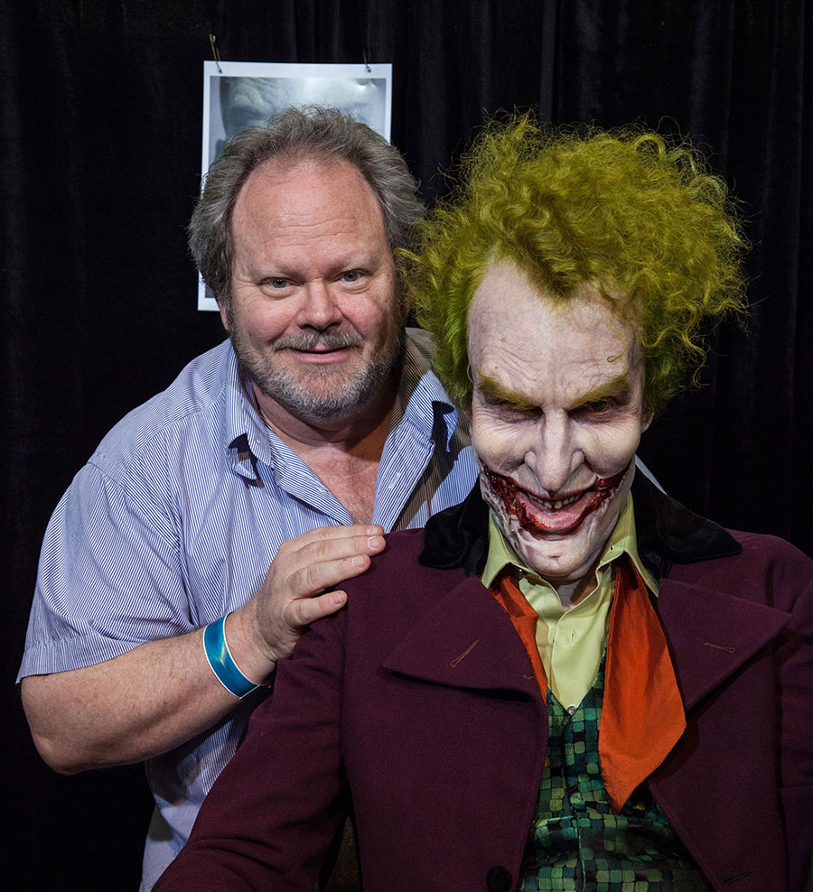 Kenny Myers and his Joker look for Skin Illustrator.  Source