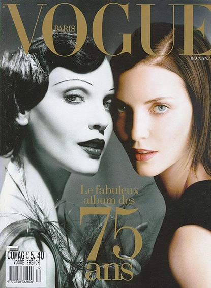 The Vogue Paris Anniversary cover