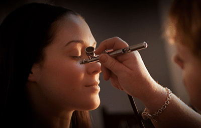 Airbrushing-Makeup