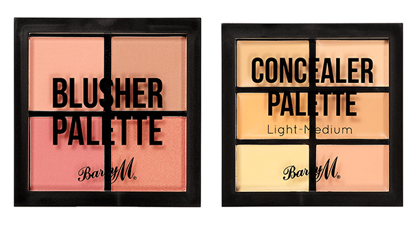 Barry M Blusher Palette and Concealer Palette