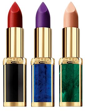 Loreal X Balmain Lipstick Collection