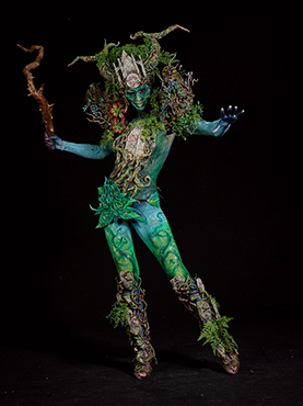 Special Award Bodypainting Team Category 2nd Place - Olga Popova & Irina Shmeleva