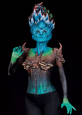 Special Award Special Effects Makeup 3rd Place - Houyam Hajlaoui