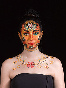 World Award Facepainting 2nd Place - Pauline Meola