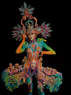 World Award Special Effects Bodypainting 3rd Place - Benedetta Carugati