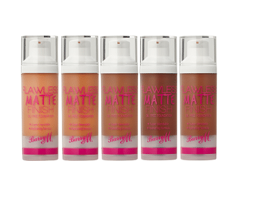 Barry M Flawless Matte Foundation New Shades