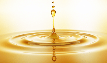 argan oil drop