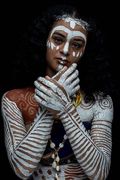 MUAH Faya Beeldstroo Model Jamie Kruydenhof Fotograaf Danique Fafianie