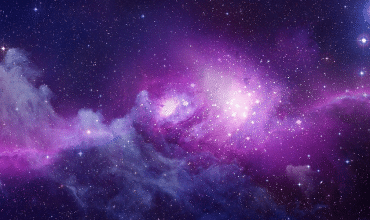 cosmic purple header