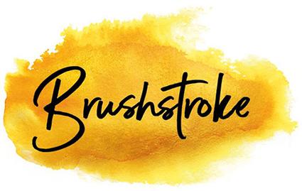 Brushstroke logo