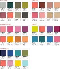 Pantone 2119 Living Coral palettes
