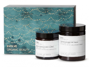 Evolve candle and glow mask set